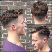 mens skin fade haircut. keeping