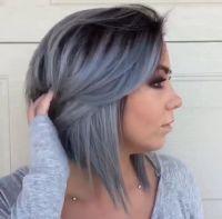 25+ best ideas about Blue gray hair on Pinterest | Blue ...