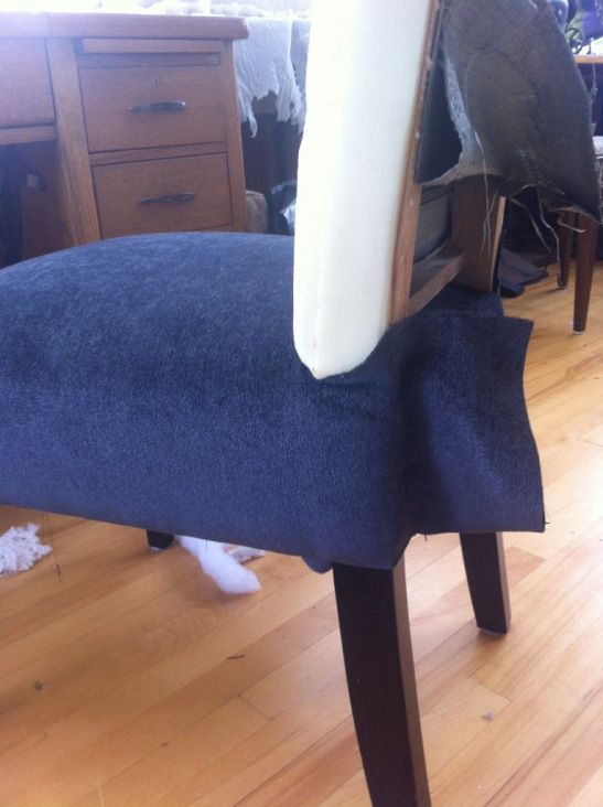 parsons chair cover tutorial office support for lower back 1000+ images about diy ofice - study on pinterest | dining chairs, room chairs and ...