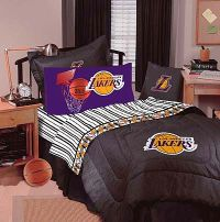 lakers bed set   ... Los Angeles Lakers - Denim Basketball ...