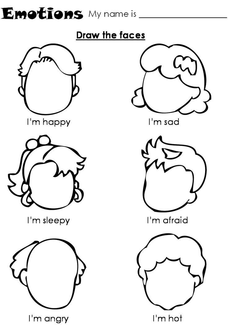 25+ best ideas about Emotions preschool on Pinterest