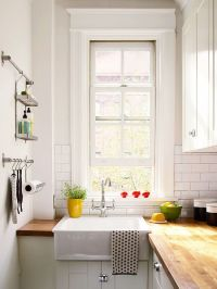 Small White Kitchens | Small white kitchens, Small ...