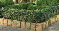 Landscape madison wi, garden border fences