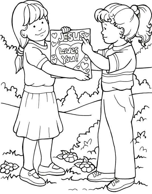 342 best images about Bible Story Coloring Pages on