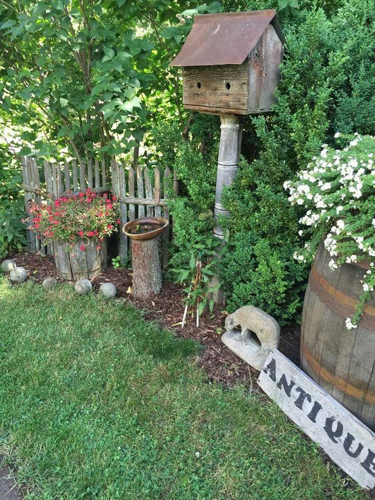 Best 25 Rustic Gardens Ideas On Pinterest Rustic Garden Decor