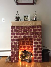 Best 25+ Cardboard fireplace ideas only on Pinterest