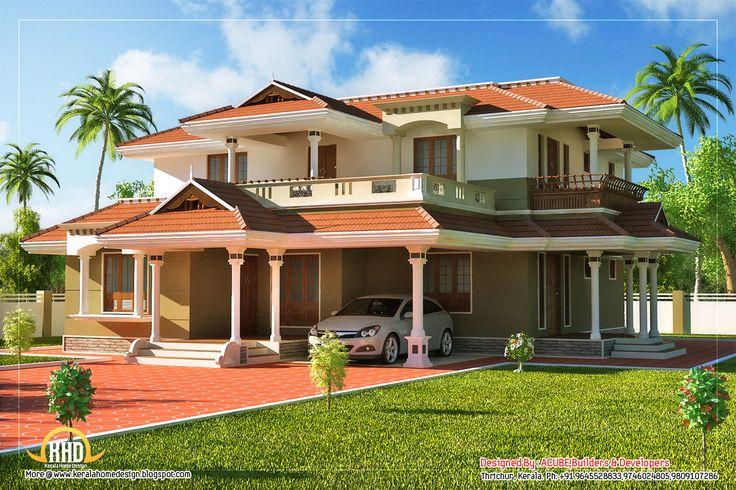 Beautiful Kerala Style 2 Story House Beautiful Homes