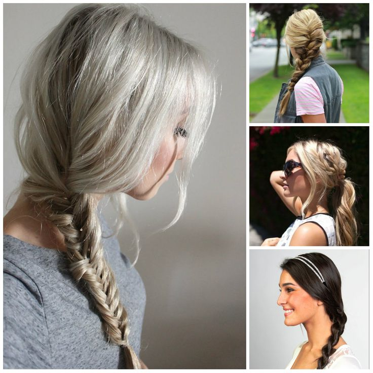25+ best ideas about Casual braided hairstyles on