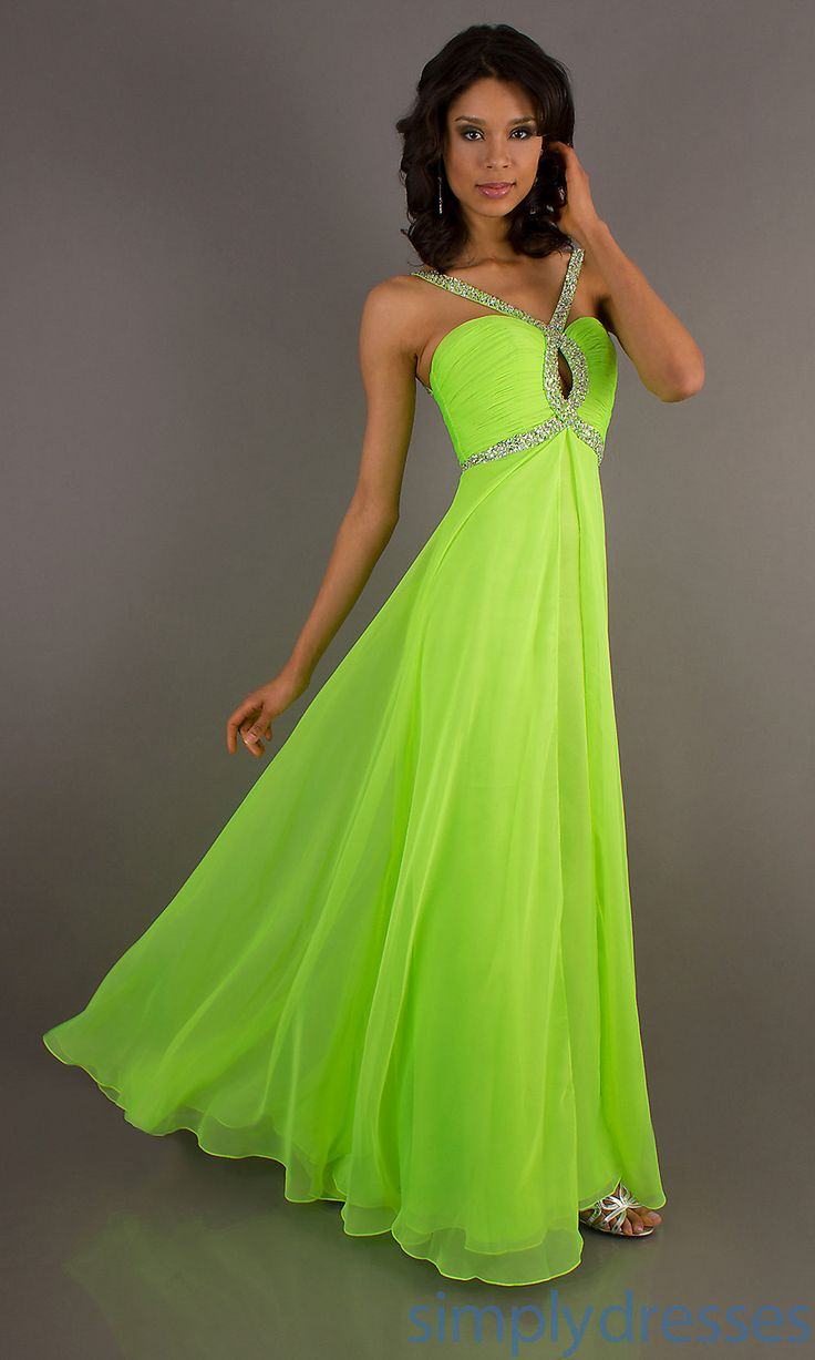 17 Best ideas about Lime Green Dresses on Pinterest