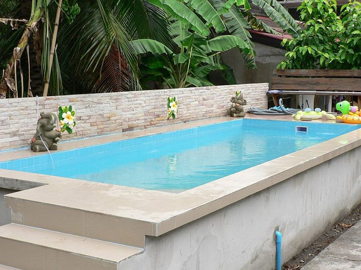 Ordinary Above Ground Swimming Pools: Marvellous Rectangle