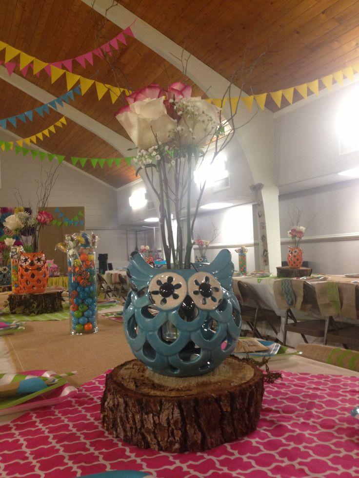 1000+ ideas about Owl Centerpieces on Pinterest