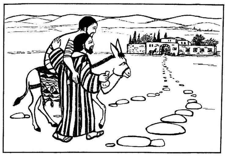 31 best images about preschool Bible: The Good Samaritan