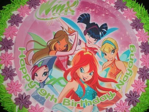1000 images about winx on Pinterest  Artesanato Cakes and Fairy cakes