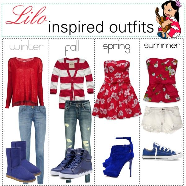 """""""Lilo inspired outfits :)"""""""