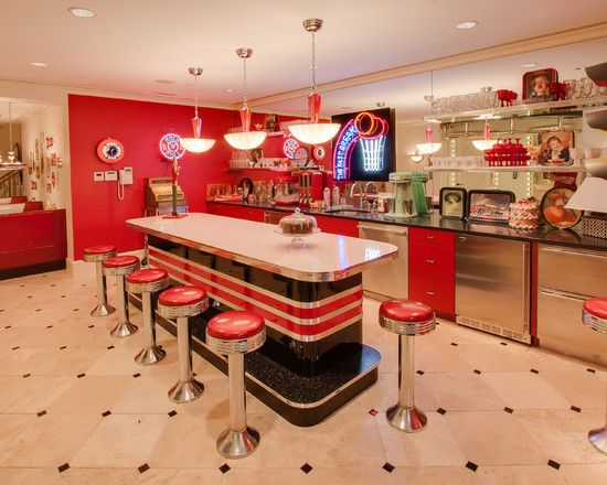 25 Best Ideas about 50s Style Kitchens on Pinterest  50s