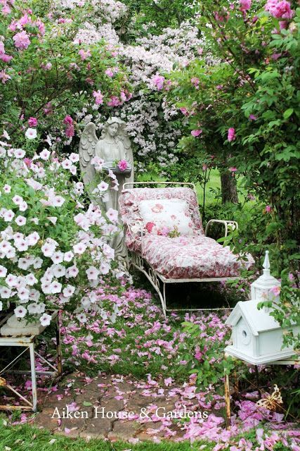 17 Best Ideas About Shabby Chic Garden On Pinterest Garden