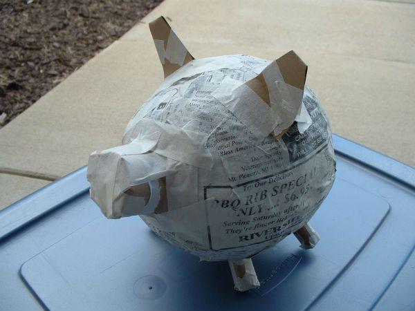 17 Best Ideas About Homemade Piggy Banks On Pinterest