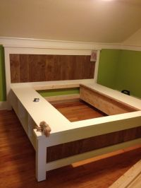 25+ best ideas about Platform bed plans on Pinterest | Diy ...