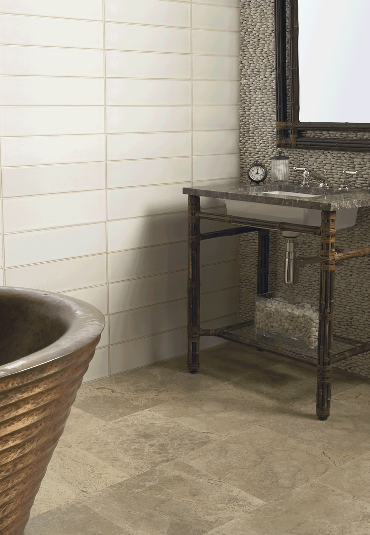173 best images about Bathroom on Pinterest  Ceramics Mosaics and Wood vanity
