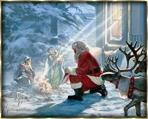 Every Knee Shall Bow To The Lord Santa Claus Pinterest The Ojays Lord And Christmas