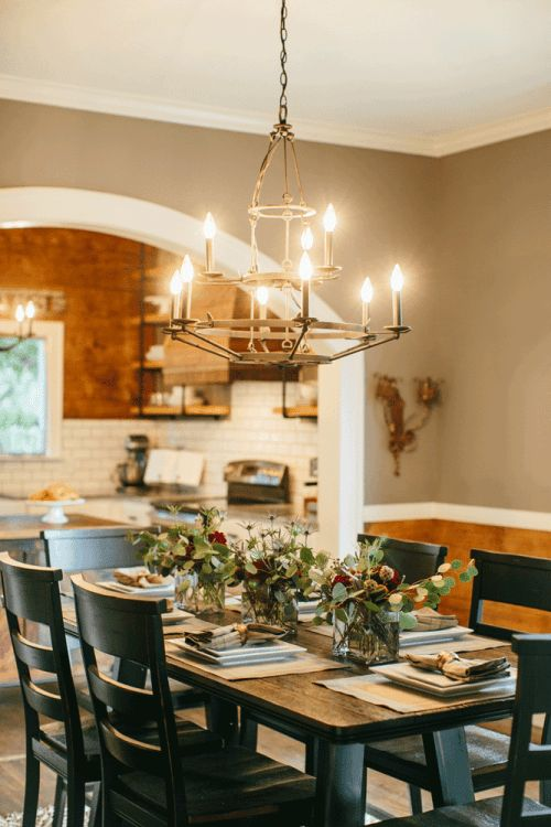 Fixer Upper Magnolia Homes House And Dining Room Tables