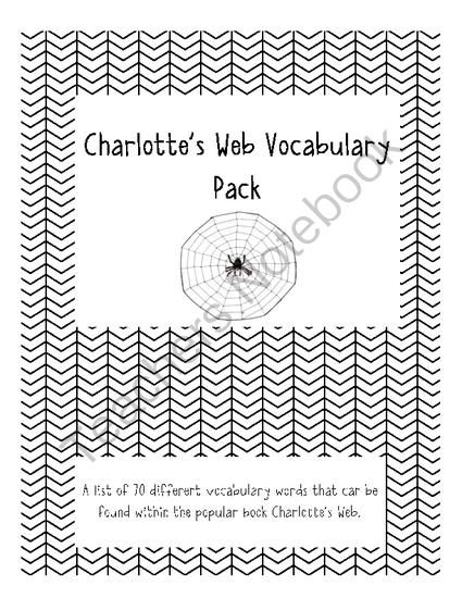 17 Best images about Charlotte's Web Unit on Pinterest