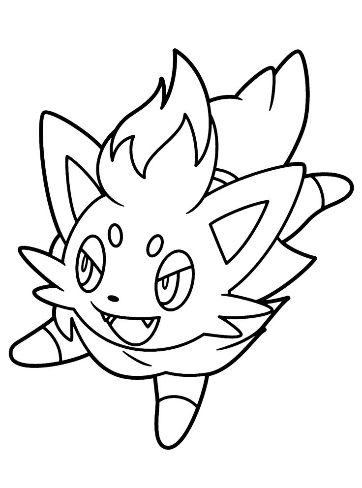37 best images about Pokemon Coloring Pages on Pinterest