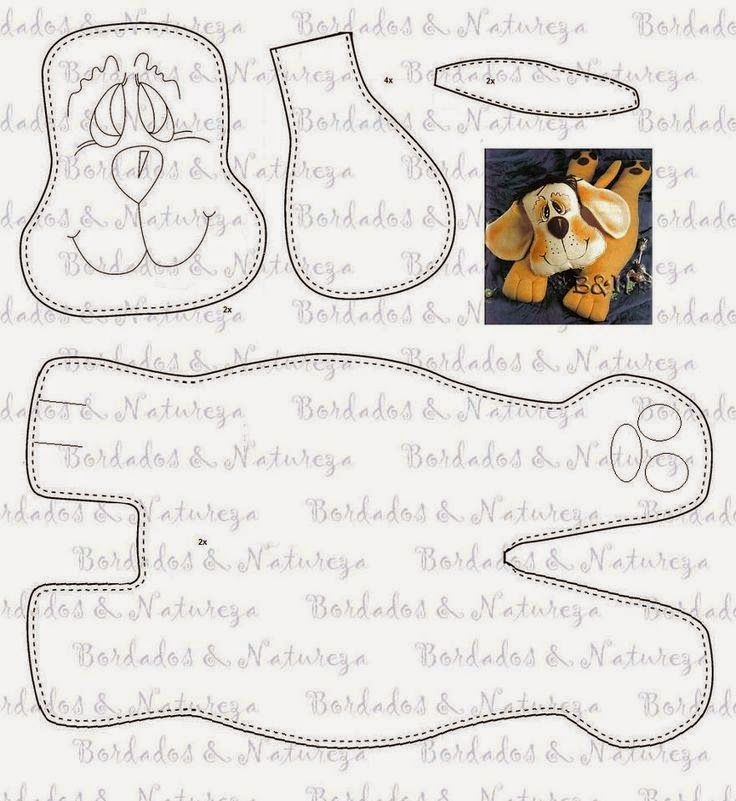 385 best images about stuffed dog patterns on Pinterest