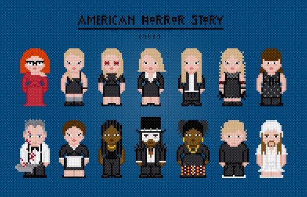 American Horror Story Coven Httppixelpowerdesigncom