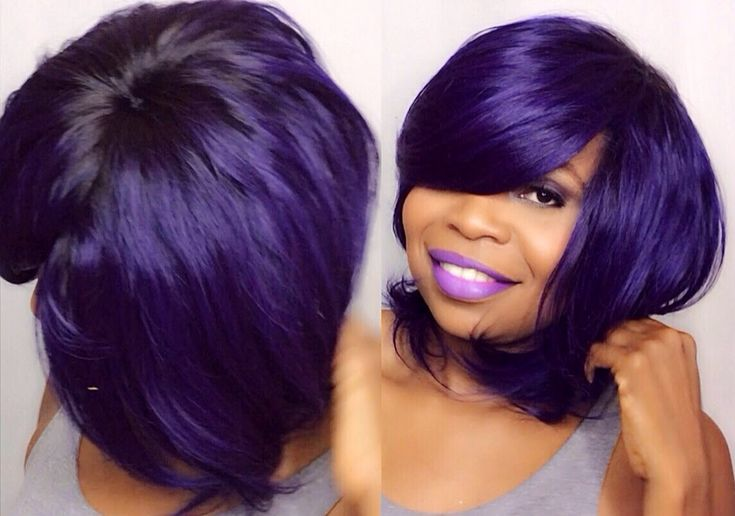 How To Do Quick Weave No Part Purple Saga Brazilian
