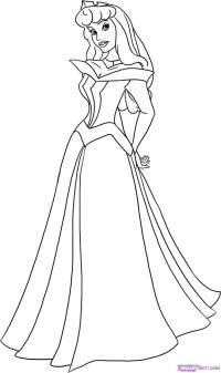 Malvorlagen Prinzessin Aurora Princess Aurora Coloring Page