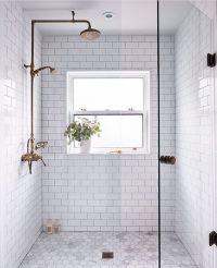 25+ best ideas about White Tile Shower on Pinterest