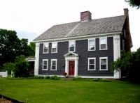 Charcoal Grey house with Red Door | Exterior Inspiration ...