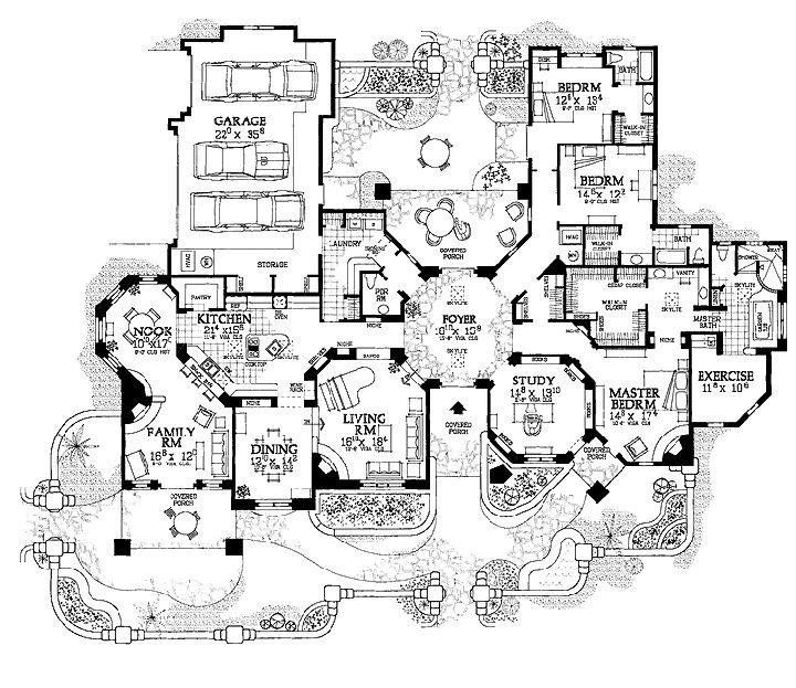 17+ best ideas about Mansion Floor Plans on Pinterest
