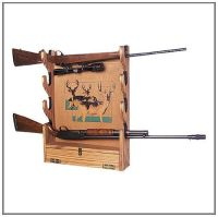 Build Your Own GUN RACK Wall Mounted San Angeo Style