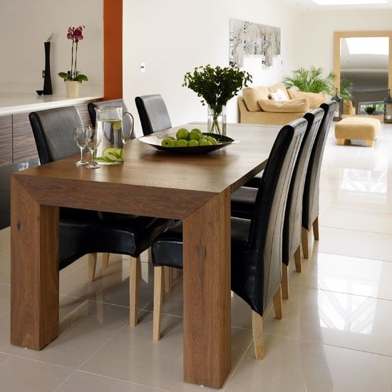 Best 25 Dark Wood Dining Table ideas on Pinterest  Dinning table Tufted dining chairs and