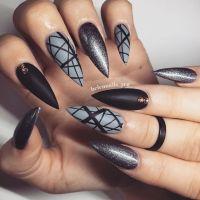 Best 20+ Grey nail designs ideas on Pinterest