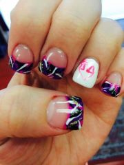 browning camo nails ideas