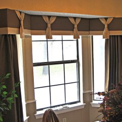 Living Room Drapery Ideas Custom Cabinets For Cornice Board With Panels Furnished And Installed ...