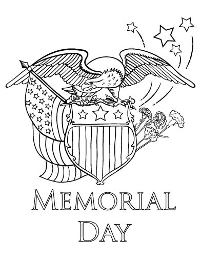 25+ best ideas about Memorial day coloring pages on
