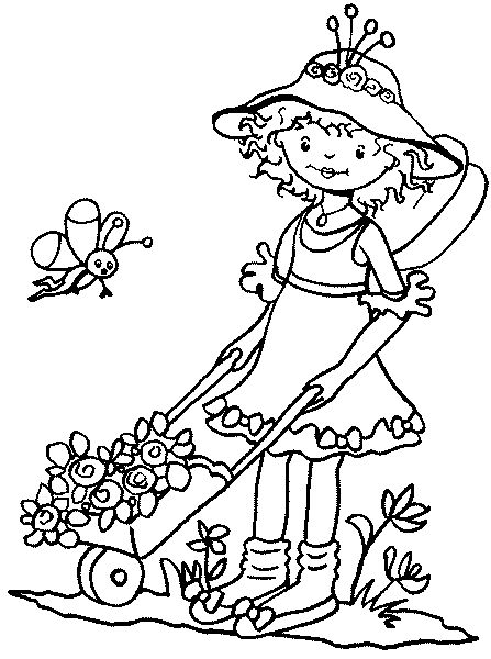 79 best images about Coloring Pages for Girls on Pinterest