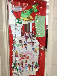 grinch door decorations - 28 images - grinch door ...