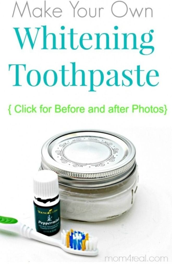 how to make a teeth whitening paste at home
