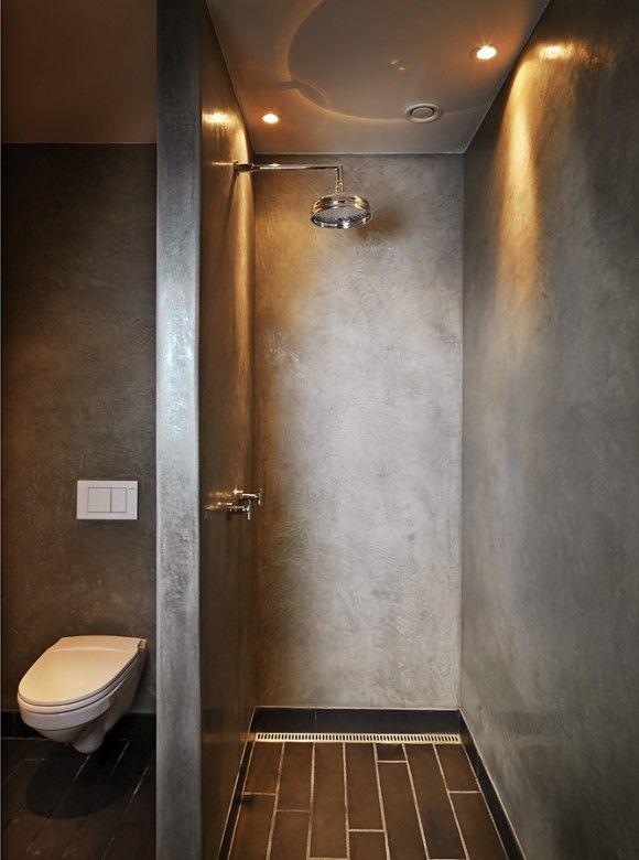 Concrete Shower Floor
