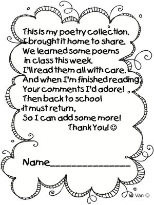 1000+ images about Preschool poems on Pinterest