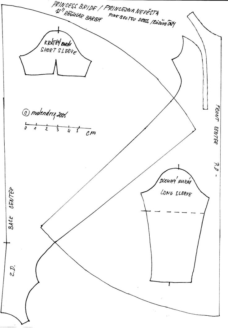 10 Best images about Free Barbie sewing patterns on
