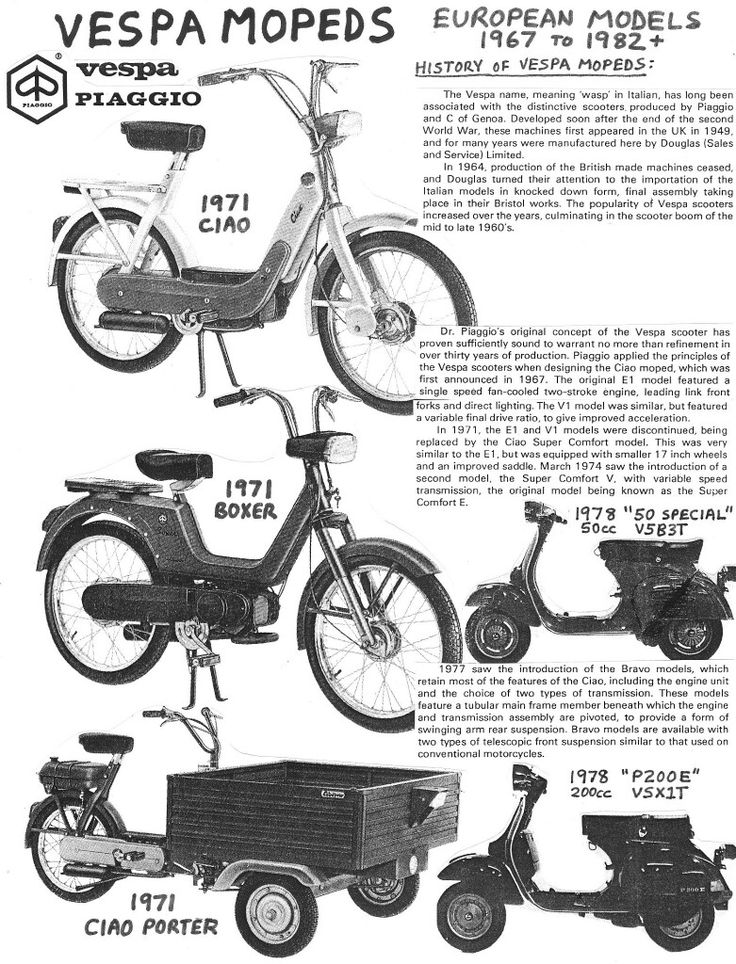 102 best images about Piaggio Ciao, Bravo, SI on Pinterest