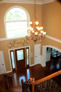 how to decorate a foyer with high ceilings - Google Search ...