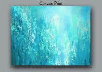 Abstract painting - Oversized canvas PRINT, Large wall art ...
