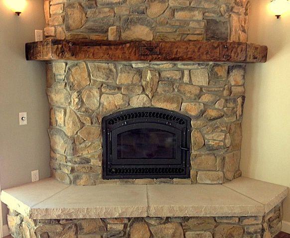 25+ best ideas about Corner fireplace mantels on Pinterest